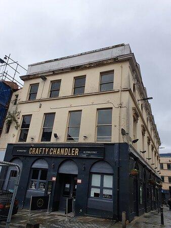 The Crafty Chandler Pub along Bold Street