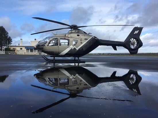 Versailles Helicopter Tour from Paris: L'hélicoptère que nous avons utilisé