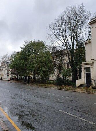 Beautiful streets in the Georgian Quarter.