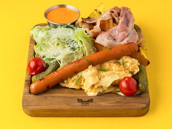 Завтрак в SOS.CAFE