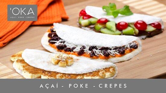 Πάρκε ντας Νασόες: Tapiocas doces e salgadas