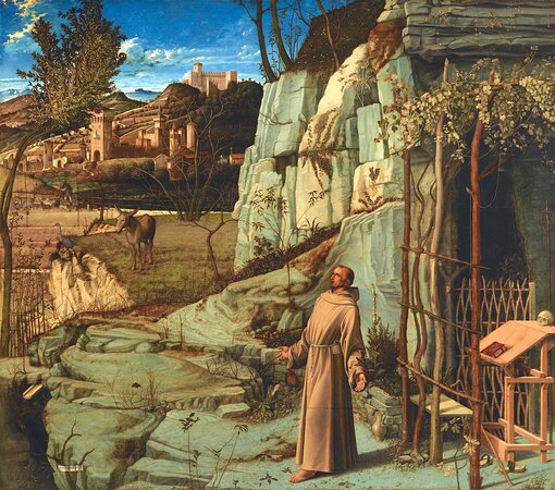 Bellini's St. Francis in the Desert, The Frick Collection, New York.