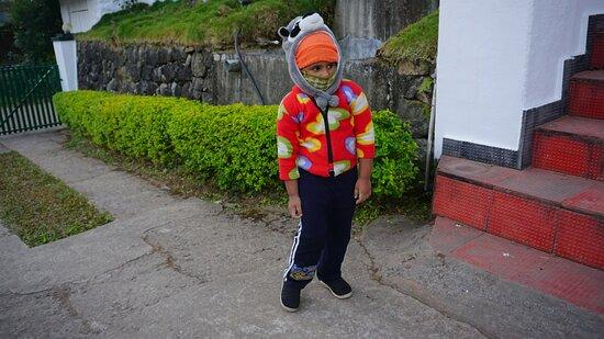 Devikulam, India: My naughty kid