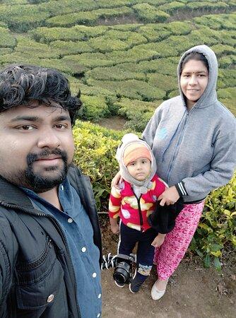 Devikulam, India: Morning walk with my love