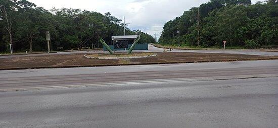 Campo de Provas Brigadeiro Veloso, da Força Aérea Brasileira em Novo Progresso - PA.