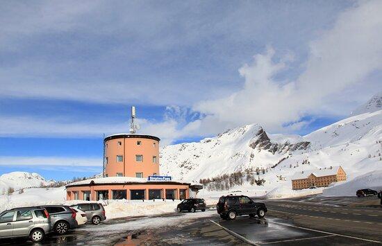 Simplon, Ελβετία: Passo del Sempione, 2.005 metri di altezza.