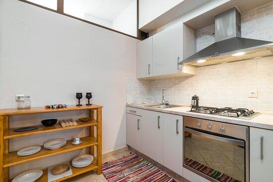 Kitchen in Zoe Suite