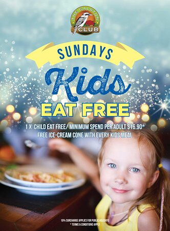 Galston, Australien: Kids Eat Free on Sundays  *terms and conditions apply*