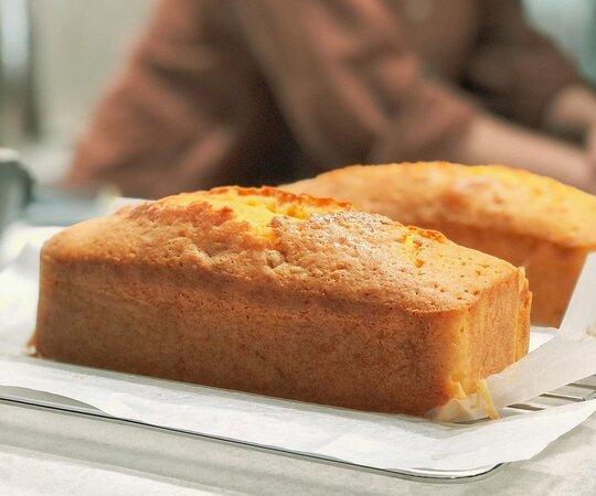 手作磅蛋糕   甜點使用日系品牌麵粉、白河小農雞蛋等優質食材新鮮製成,歡迎臉書搜尋「安內咖啡新市店」私訊訂購