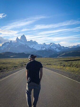 El Chalten, Argentina: O imponente Fitz Roy. Patagônia Argentina.