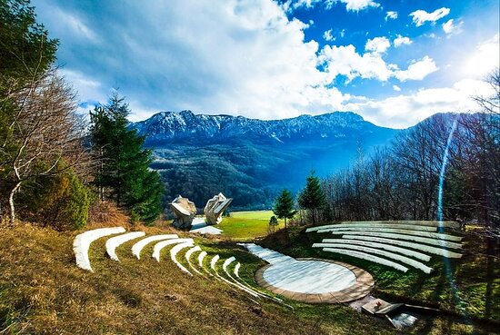 """Sutjeska National Park rightfully bears the epithet as a """"jewel of Republic of Srpska"""". It is the biggest and oldest national park in Republic of Srpska and Bosnia and Herzegovina, covers the area of 16,052.34 hectares, of which more then 66% is covered with forest, meadows and pastures. Park extends over an mountain area at junction of borders of Bosnia and Herzegovina and Montenegro, and it is bounded with rivers Piva, Drina and Neretva and mountains Bioč, Vučevo, Maglić, Volujak, Lebršnik and"""