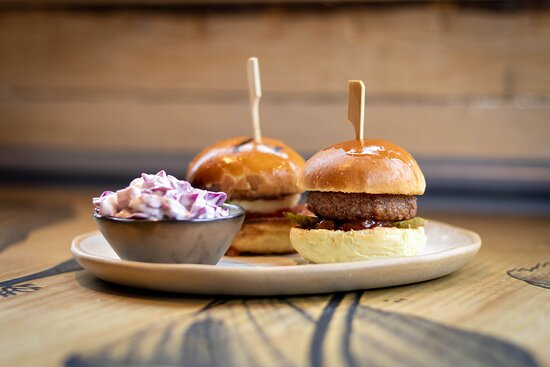 Sliders - available in Vegan too!