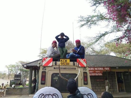 Bovid Africa Safaris tour vehicle.