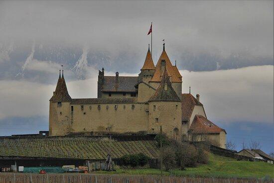 Castello di Aigle.  10 Febbraio 2021.