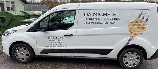 Unser Liefer-Auto wir Liefern Ihnen das Essen auch nach Hause..