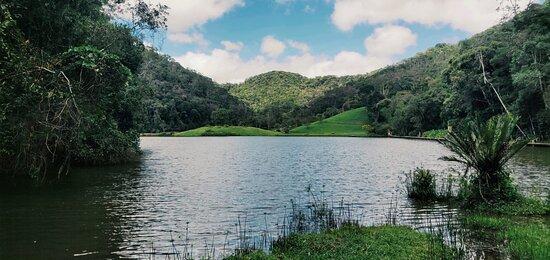 Ribeirão Grande, SP: Vue depuis notre chambre, Thailande