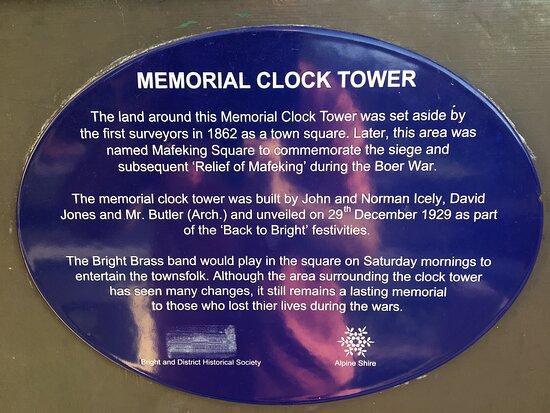 Bright Memorial Clock Tower