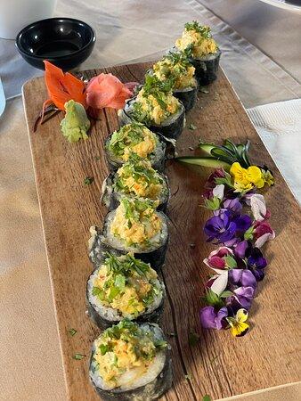 Sushi de langosta