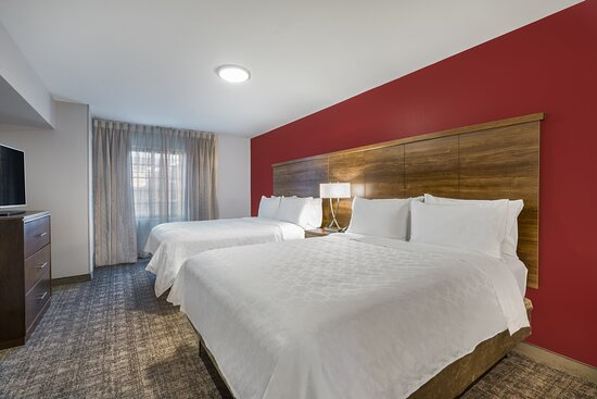 2 Bedroom Suite. 2 queen beds separate bathroom in each bedroom.