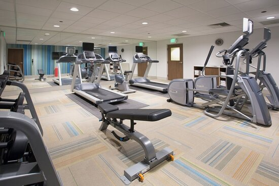 Fitness Center in the new Holiday Inn Express Princeton