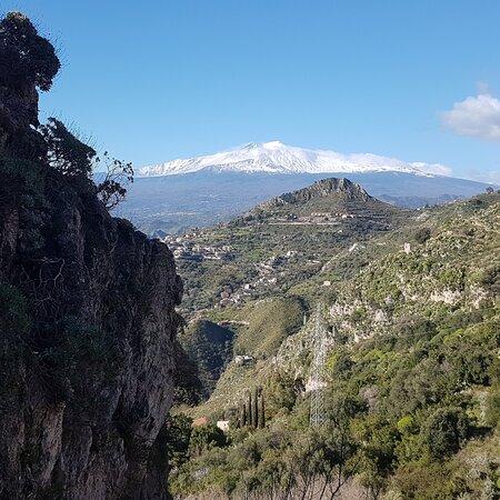 Etna from #Taormina Cuculunazzo