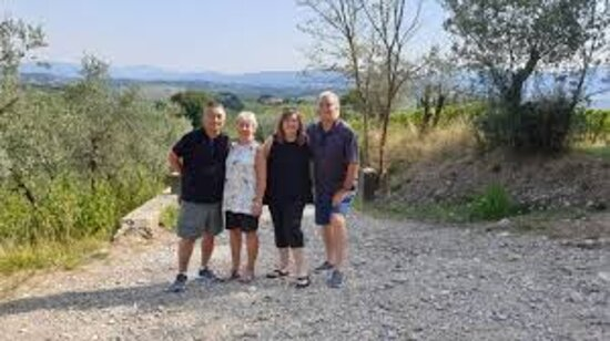 Greve in Chianti, Italy: Our family