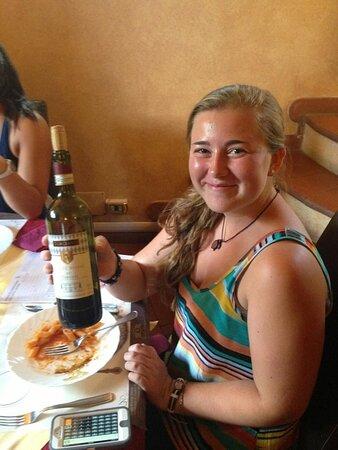 Greve in Chianti, Italy: Me
