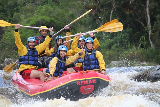São Luís do Paraitinga, SP: A Expedição de Rafting de 4 horas explora um trecho preservadíssimo do Rio Paraibuna.