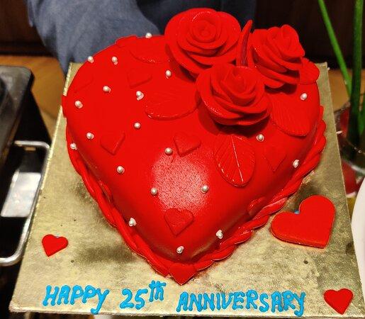 Marriage Anniversary Cake