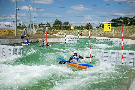 Stade d'eaux-vives - Kayak