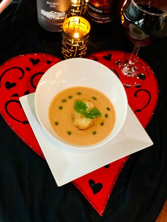 Lobster Bisque for Valentine's Day!