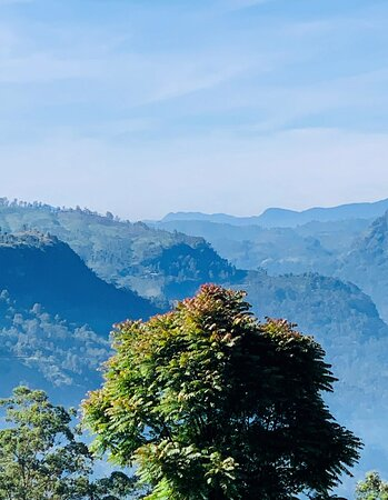 view from nearby hiking trails which can be easily accessed from the villa
