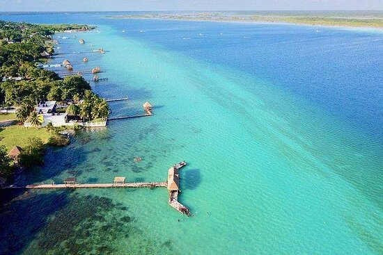 Tour Bacalar med transport fra Playa...