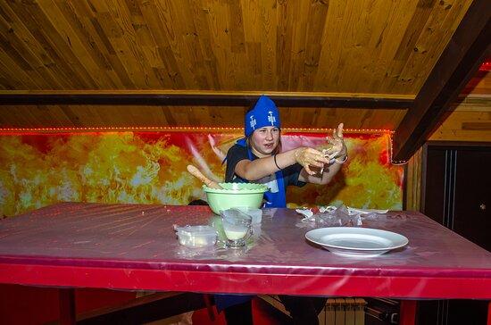 Адское кулинарное шоу!