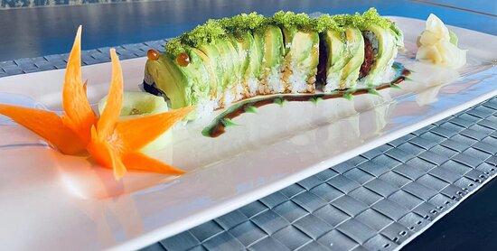Green Caterpillar Roll