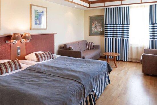 Scandic eden nokia superior king bed