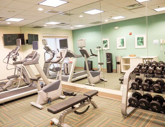 Stay healthy during your visit with our equipped Fitness Center