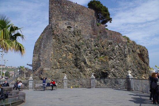 Aci Castello, Italia: Norman Castle from square