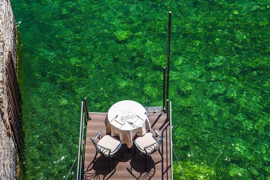 """Rivalago"" Restaurant - Romantic table."