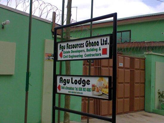 Haatso, Ghana: Signboard