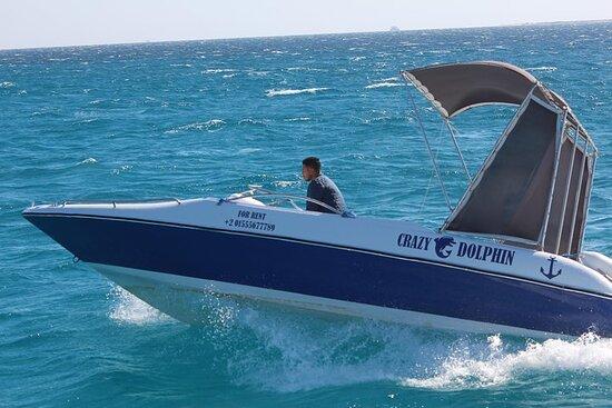 תמונה מ4 Hours Sun Set Abo munkar Island By Speed Boat - Semi Private - Hurghada