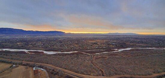 Albuquerque Sunrise Hot Air Balloon Flight Photo