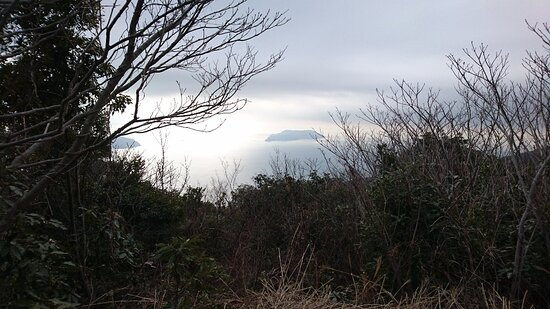 山口県, 山頂付近と景色