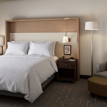 Sleep like a King in our Renovated room with Sleeper sofabed