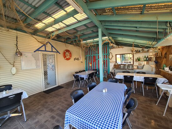 Leeman, Australia: Dining area