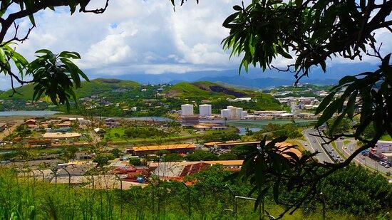 Noumea, New Caledonia: ╭🌱 ╮ View from CHEMIN DE LA VIERGE TRAIL ╭🌱 ╮ Montagne Coupée Road ✧ 𝙉𝙤𝙪𝙢𝙚𝙖 𝘾𝙞𝙩𝙮   ╭🌱 ╮ 𝑵𝒆𝒘 𝑪𝒂𝒍𝒆𝒅𝒐𝒏𝒊𝒂  ╭🌱 ╮