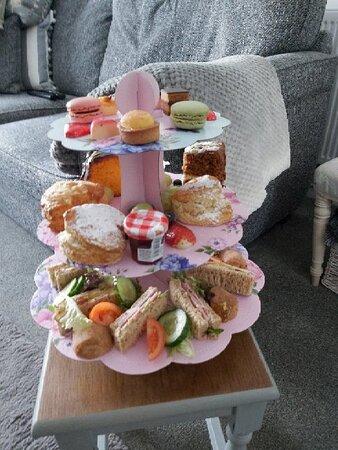 Fantastic valentines afternoon tea