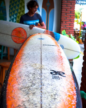 Surf Lessons in Puerto Escondido: surfboard