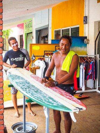 Surf Lessons in Puerto Escondido: Instructors