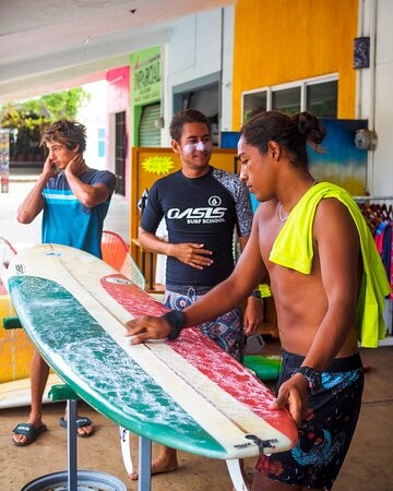Surf Lessons in Puerto Escondido: surfboard care